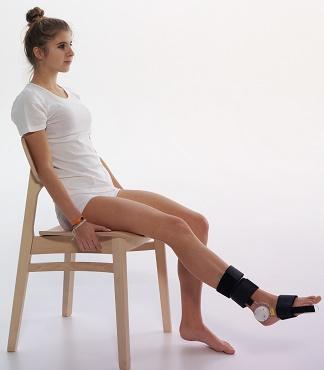 goniometro piede
